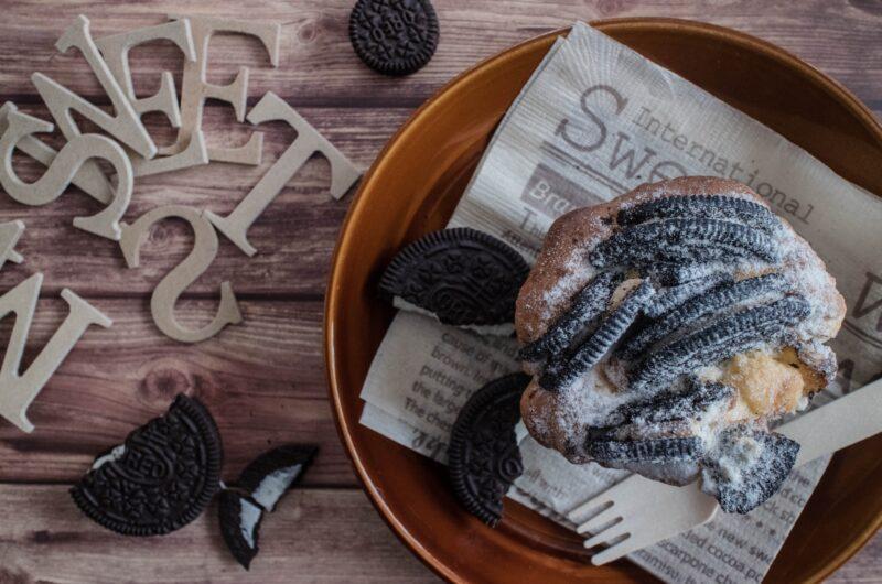 【家事ヤロウ】オレオチーズケーキトーストのレシピ|パン祭り【2月17日】