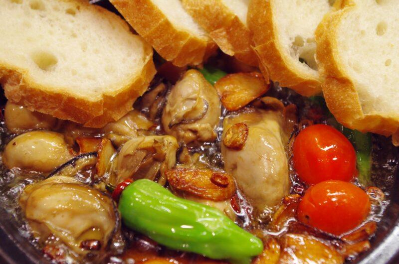 【男子ごはん】カキのオイル煮 サワーソースを添えてのレシピ【2月7日】