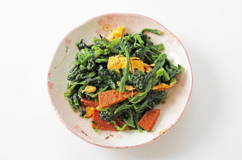 【きょうの料理】ほうれん草と卵のラクうま炒めのレシピ|佐々木浩【2月23日】