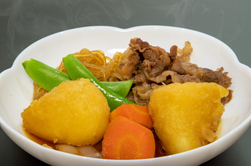 【ソレダメ】さつまいもの肉じゃがのレシピ|浅香唯【2月3日】