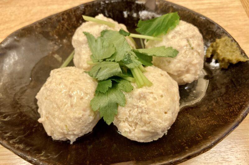 【男子ごはん】鶏の肉団子のレシピ【2月28日】
