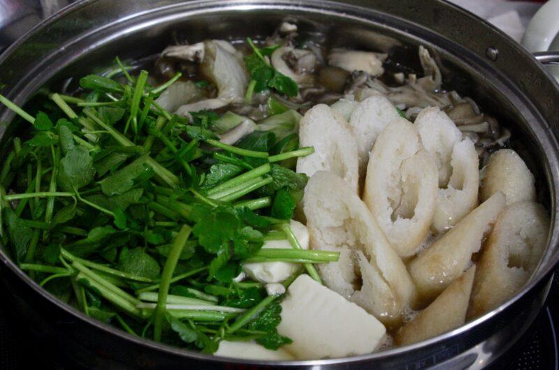 【男子ごはん】せり鍋のレシピ【2月21日】