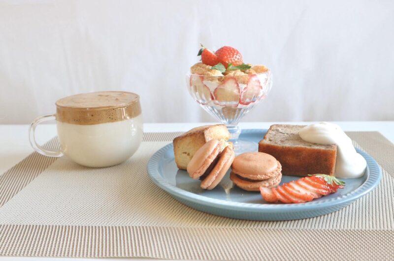 【あさイチ】お麩チョコパフェ(お麩スポンジケーキ)のレシピ【2月2日】
