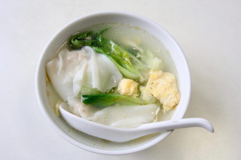 【ヒルナンデス】即席あさりのしょうが中華ワンタンスープのレシピ|加藤ナナ|サイコロレストラン【2月25日】