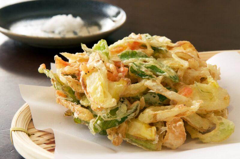 【きょうの料理】しょうがとねぎのかき揚げのレシピ【2月2日】