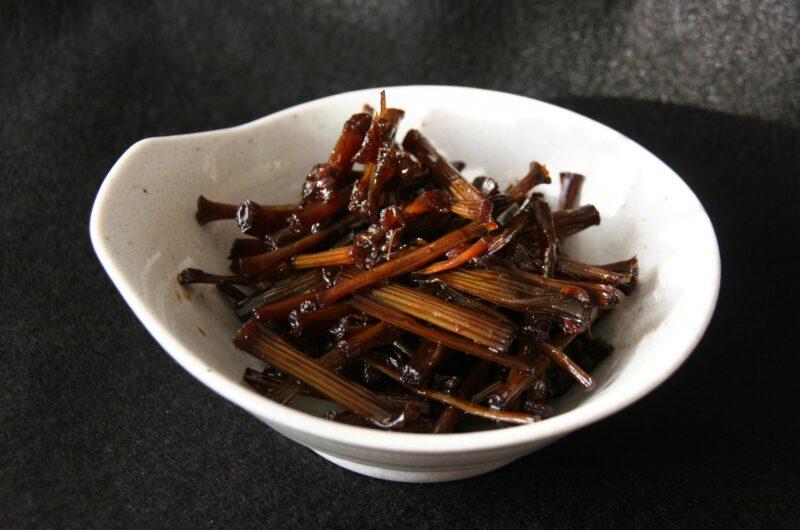 【きょうの料理】ふきのつくだ煮のレシピ 林亮平【3月15日】