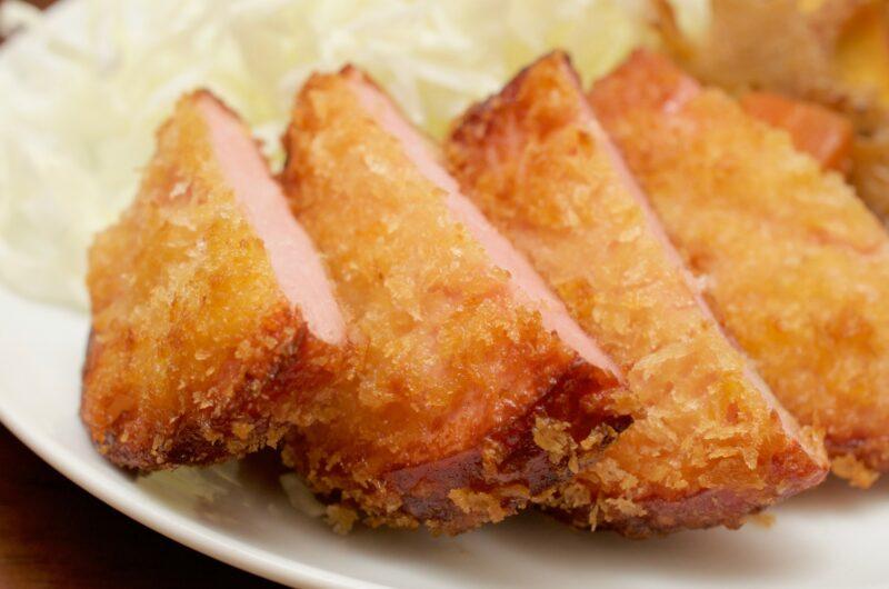 【グッとラック】油揚げハムカツ丼のレシピ ギャル曽根【3月18日】