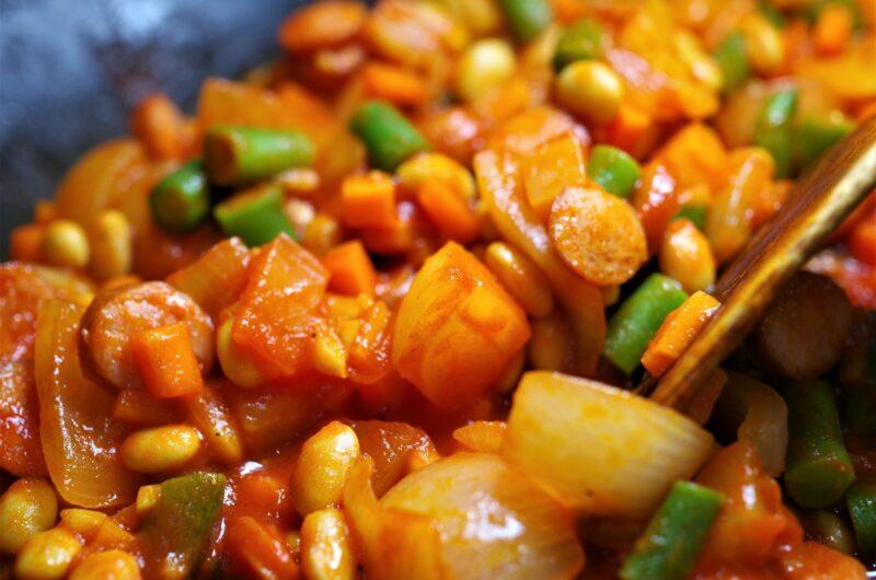 【シューイチ】片瀬那奈のチリコンカンのレシピ|キャンプ飯【3月28日】