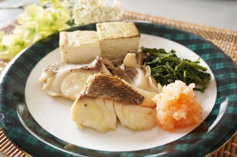 【きょうの料理】鯛のバター蒸し木の芽添えのレシピ|大原千鶴【4月2日】