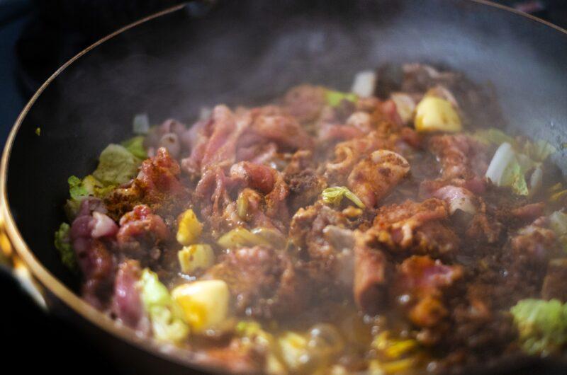 【ヒルナンデス】塩辛と白菜のターメリック和えのレシピ|印度カリー子【3月4日】
