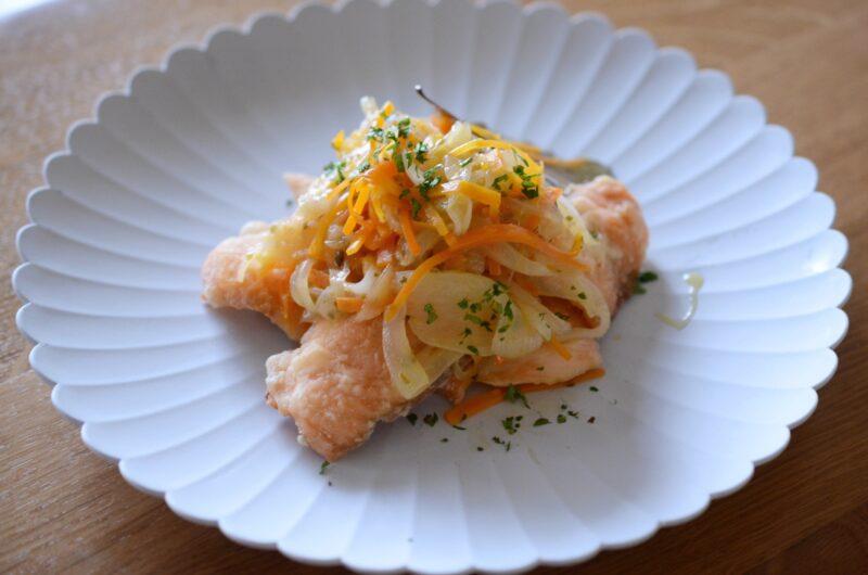 【青空レストラン】プレミアムオリーブヤシオマスのエスカベッシュのレシピ【3月13日】