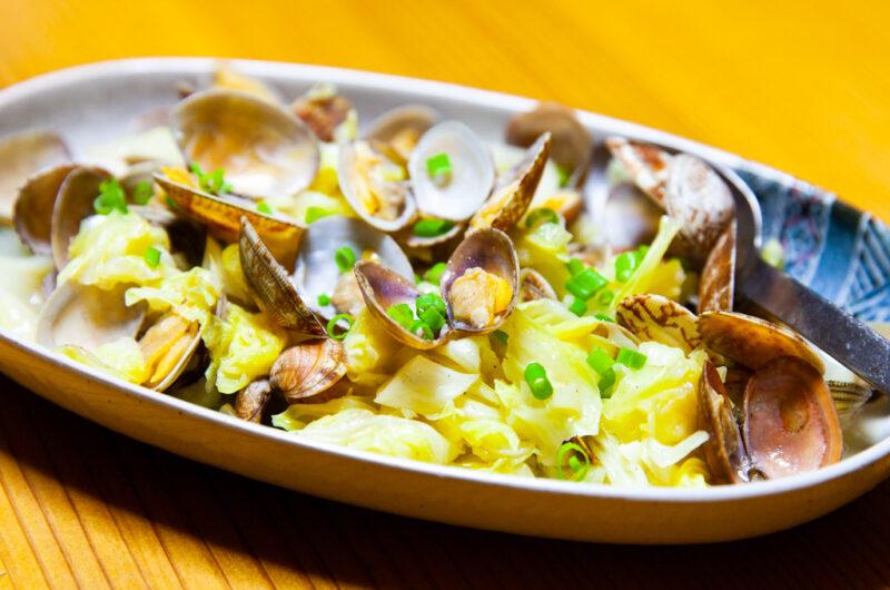 【あさイチ】あさりと春キャベツのオイル酒蒸しのレシピ【3月18日】