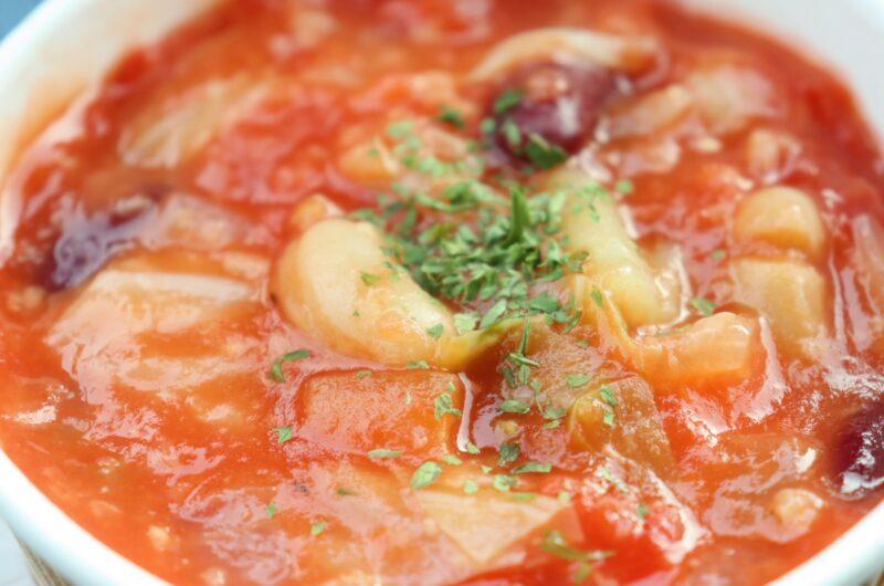 【土曜はナニする】ブロッコリーとオリーブのトマトスープかけごはんのレシピ【3月13日】