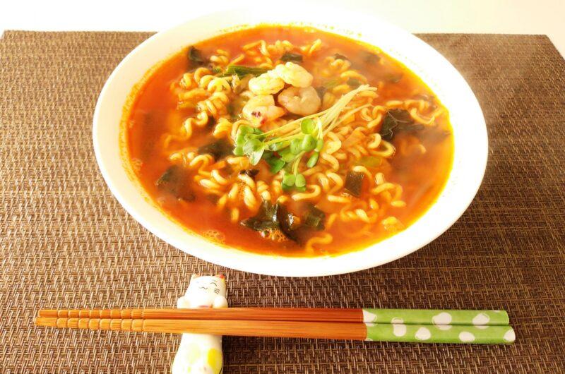 【鬼旨ラーメンGP】辛ラーメンで酸辣坦々麺のレシピ【3月24日】