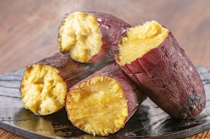 【ZIP】塩水で焼き芋を美味しくする裏技のレシピ【3月2日】