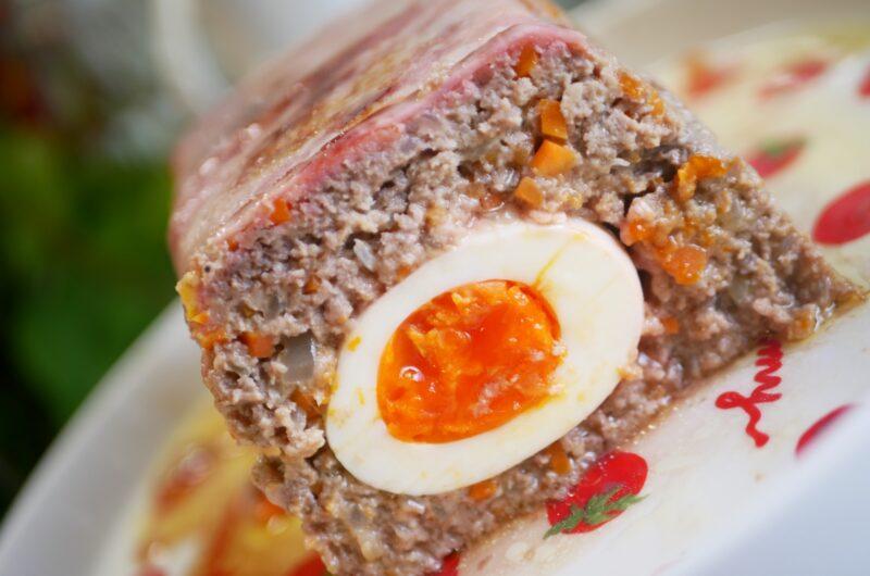 【ノンストップ】特製肉巻きミートローフのレシピ|坂本昌行|エッセ【4月30日】