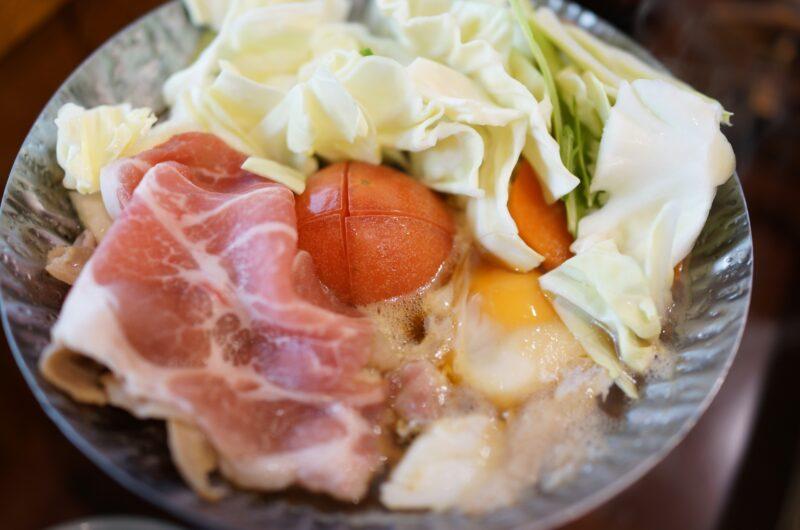 【おは朝】アスパラとトマトの牛すき煮のレシピ|たっきーママ|おはよう朝日です【4月21日】