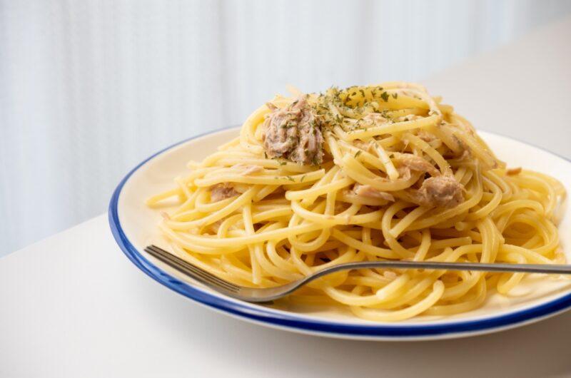 【キメツケ】丸ごとツナ缶パスタのレシピ レンチン【4月27日】