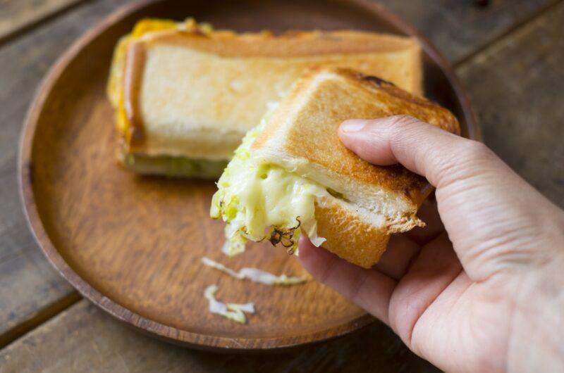 【土曜はナニする】ピッツァ・マルゲリータ風サンドのレシピ ホットサンドレシピ【5月1日】