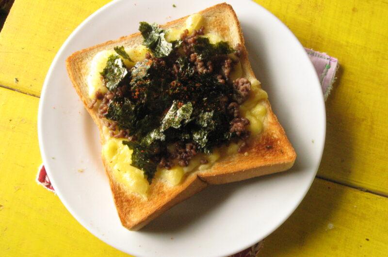 【スッキリ】のりチーズのたけのこトーストのレシピ【4月30日】