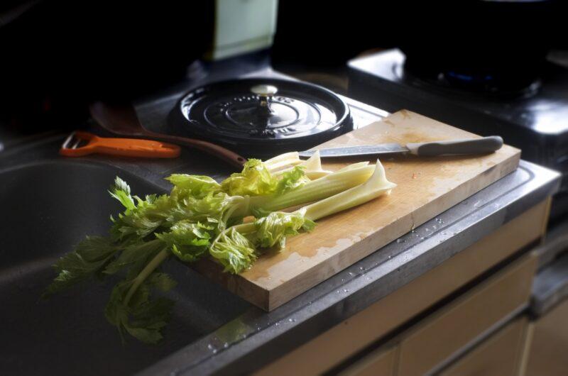 【青空レストラン】セロリンゴサラダのレシピ|江戸川セロリ【5月1日】