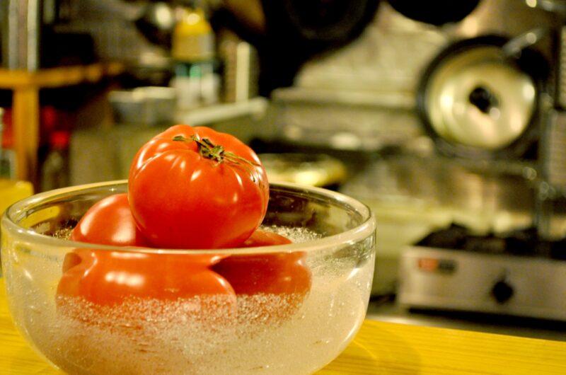 【ZIP】トマト丸ごと!とろける焼きチーズご飯のレシピ たけだバーベキュー【5月12日】