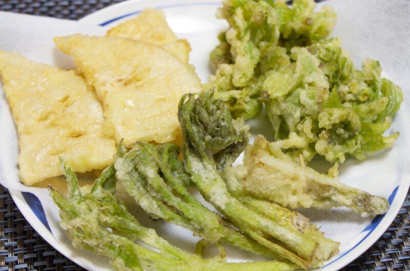 【きょうの料理】山菜の天ぷらのレシピ|土井善晴【5月10日】