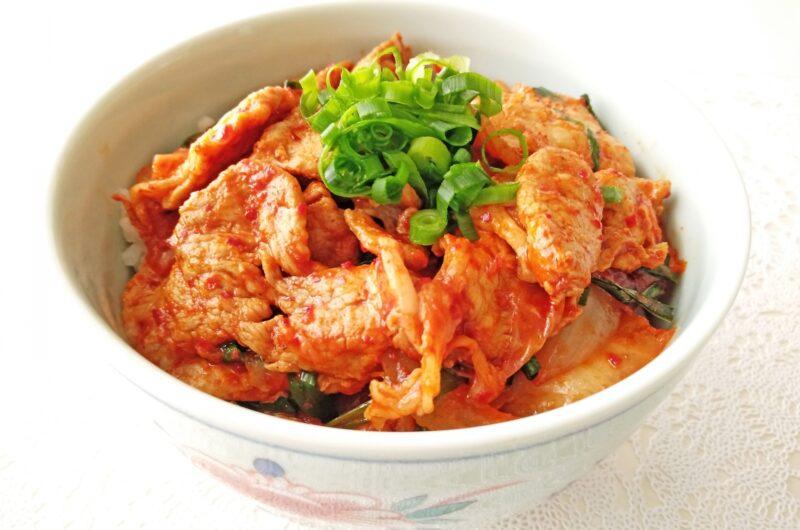 【土曜はナニする】豚肉とキムチの腸活丼のレシピ|加治ひとみ【5月8日】