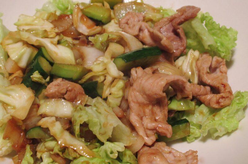 【あさイチ】蛇腹きゅうりでピリ辛肉炒めのレシピ【6月1日】