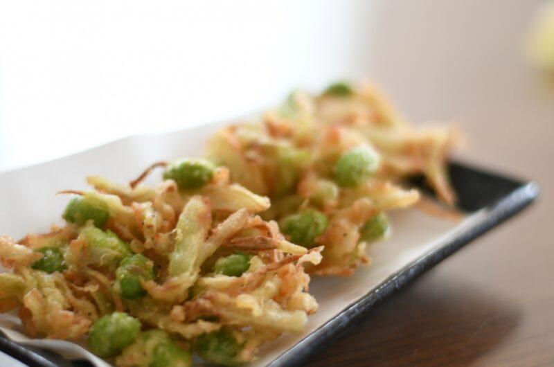 【きょうの料理】枝豆と玉ねぎのかき揚げのレシピ|栗原はるみ【5月28日】