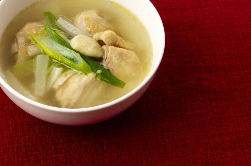 【きょうの料理】鶏皮だしのスープのレシピ|しらいのりこ【5月3日】