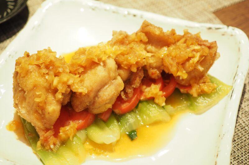 【おは朝】大豆ミートの油淋鶏サラダのレシピ|おはよう朝日です【5月26日】