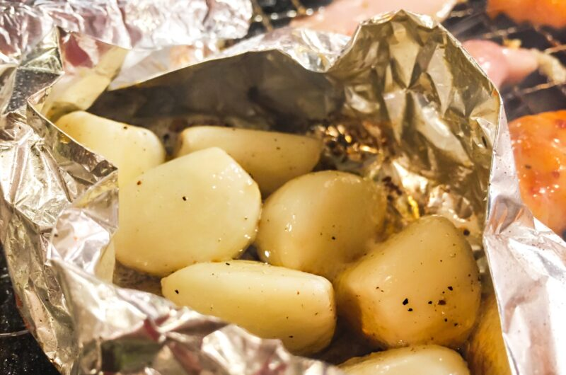 【家事ヤロウ】にんにくの丸焼きのレシピ|牛角|トースター丸焼き飯【6月8日】