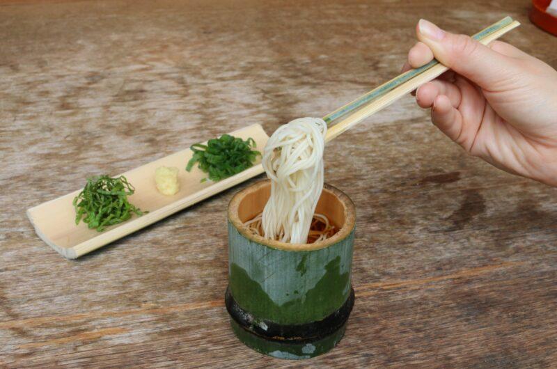 【青空レストラン】カリカリ梅の炙り鯛そうめんのレシピ【6月19日】