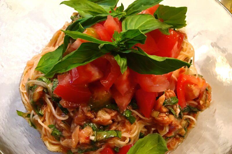 【おは朝】ごろごろトマトとカニの冷製カッペリーニのレシピ おはよう朝日です【6月24日】