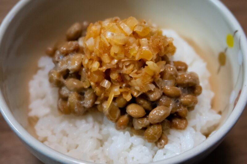 【ソレダメ】さっぱり納豆チーズ丼のレシピ 浜名ランチ【6月2日】