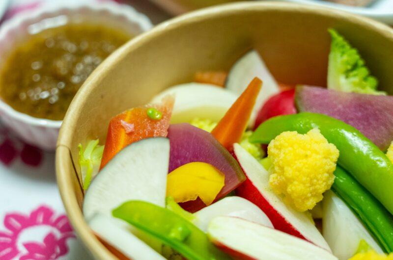 【あさイチ】スティック野菜のアリオリ風ソースのレシピ にんにくマヨソース【6月9日】