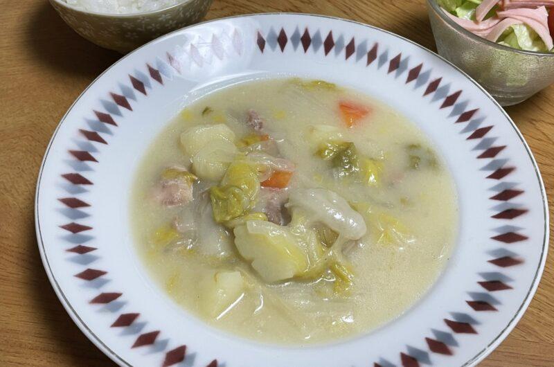 【土曜はナニする】鶏肉と白菜のトロトロシチューのレシピ リュウジ バズレシピ ワンパンご飯【6月19日】