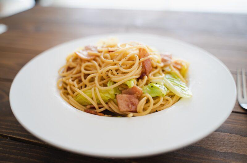 【ラヴィット】キャベツと塩辛のペペロンチーノ風パスタのレシピ|ロバート馬場|ラビット【6月21日】