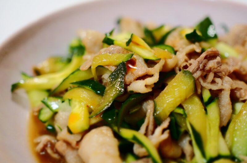 【ノンストップ】鶏肉ときゅうりの柚子胡椒炒めのレシピ クラシル エッセ【6月23日】