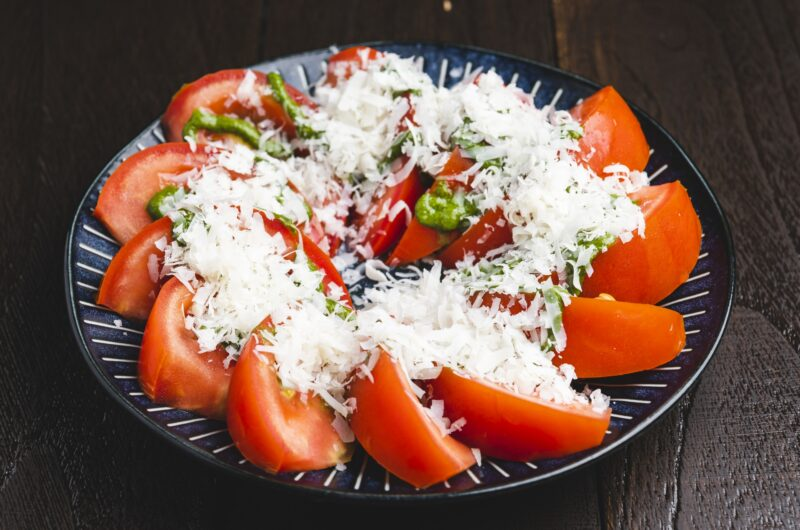 【スッキリ】トマトとフルーツの冷んやりサラダのレシピ|芳根京子|sio 鳥羽周作【6月22日】