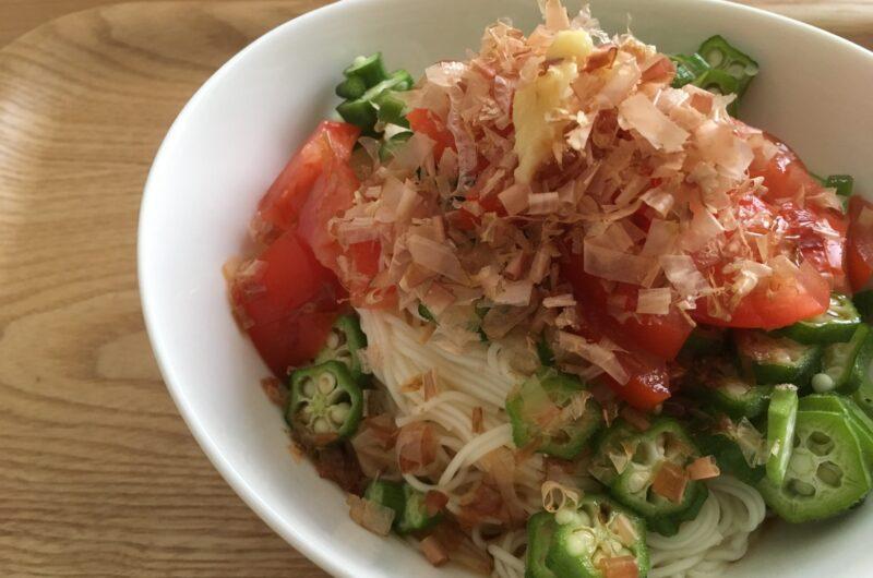 【きょうの料理】夏野菜そうめんのレシピ|平野レミ【7月9日】