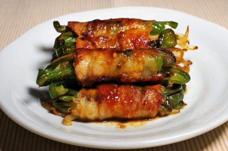 【きょうの料理】丸ごとピーマンの肉巻きのレシピ|飛田和緒【7月5日】