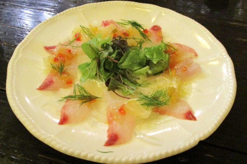 【家事ヤロウ】鯛とベーコンのカルパッチョのレシピ キング【7月6日】