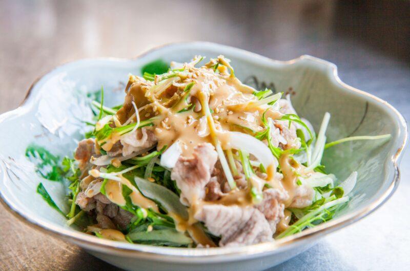 【世界一受けたい授業】うま辛ダレの冷製豚しゃぶのレシピ【7月24日】