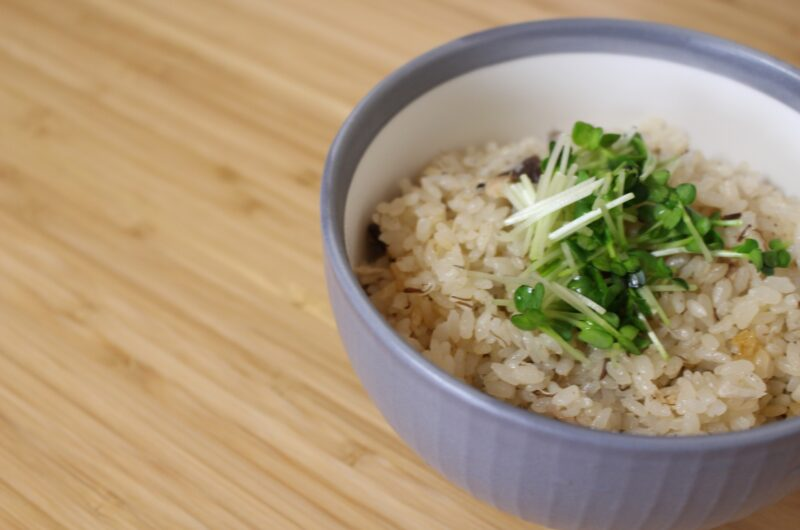 【きょうの料理】簡単しょうがご飯のレシピ|渡辺あきこ【7月12日】