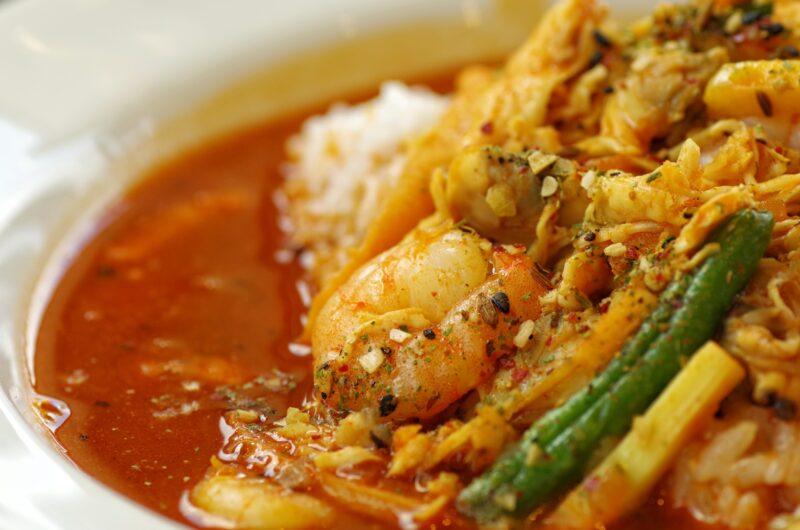 【土曜はナニする】海の幸ゴロゴロ南国カレーのレシピ|印度カリー子【7月31日】
