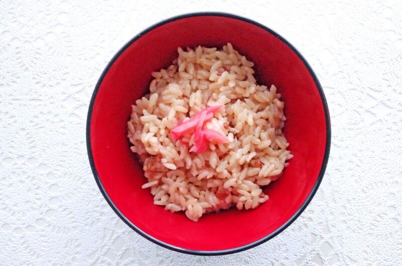 【キメツケ】紅生姜ととうもろこしの混ぜご飯のレシピ【7月13日】