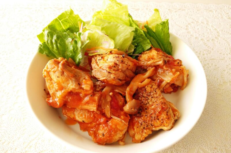【ヒルナンデス】和風チキンのトマト煮のレシピ 家政婦マコさん【7月14日】
