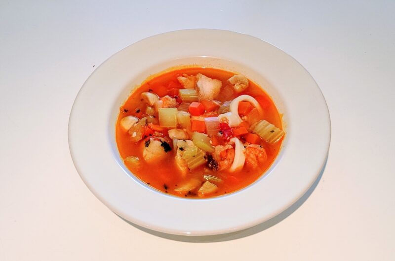 【男子ごはん】ホタテとトマトクリームのスープ仕立てのレシピ【7月4日】